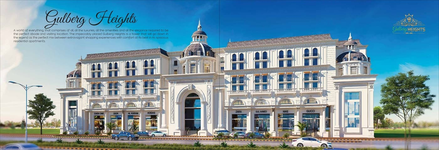 Ground Floor Shops on 3 Years Installments at Gulberg Green Islamabad