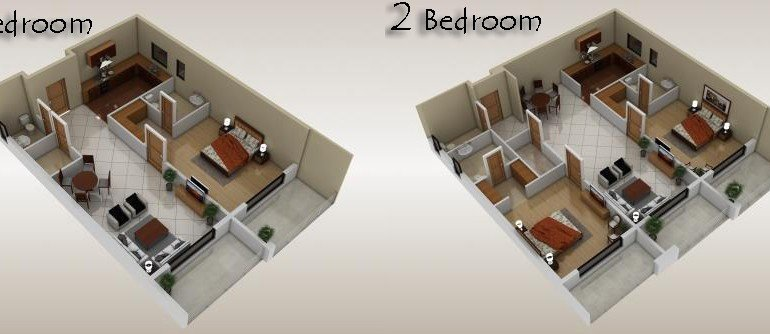 Bahria Heights 7 Two Apartments