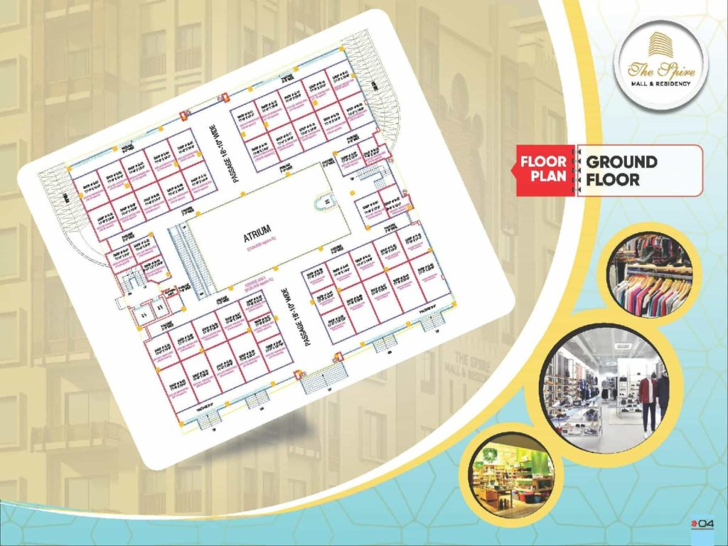 The Spire Mall Ground Floor Shops Layout Payment Plan