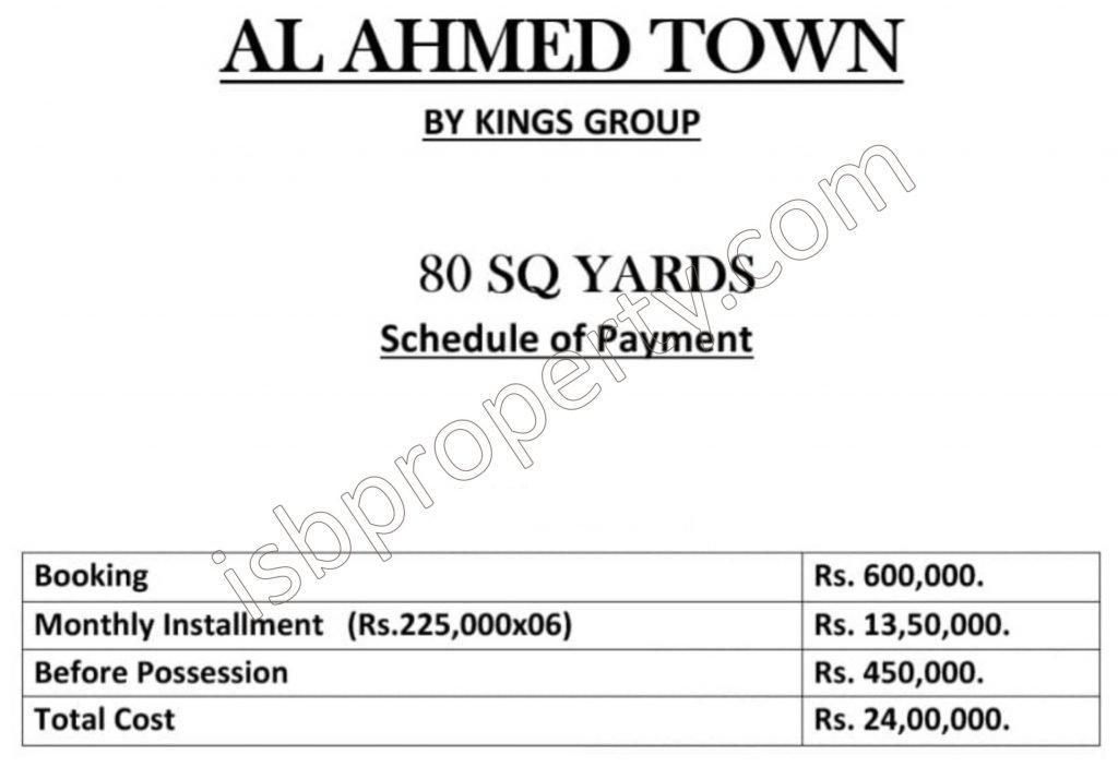 Al-AhmedTown-PaymentPlan