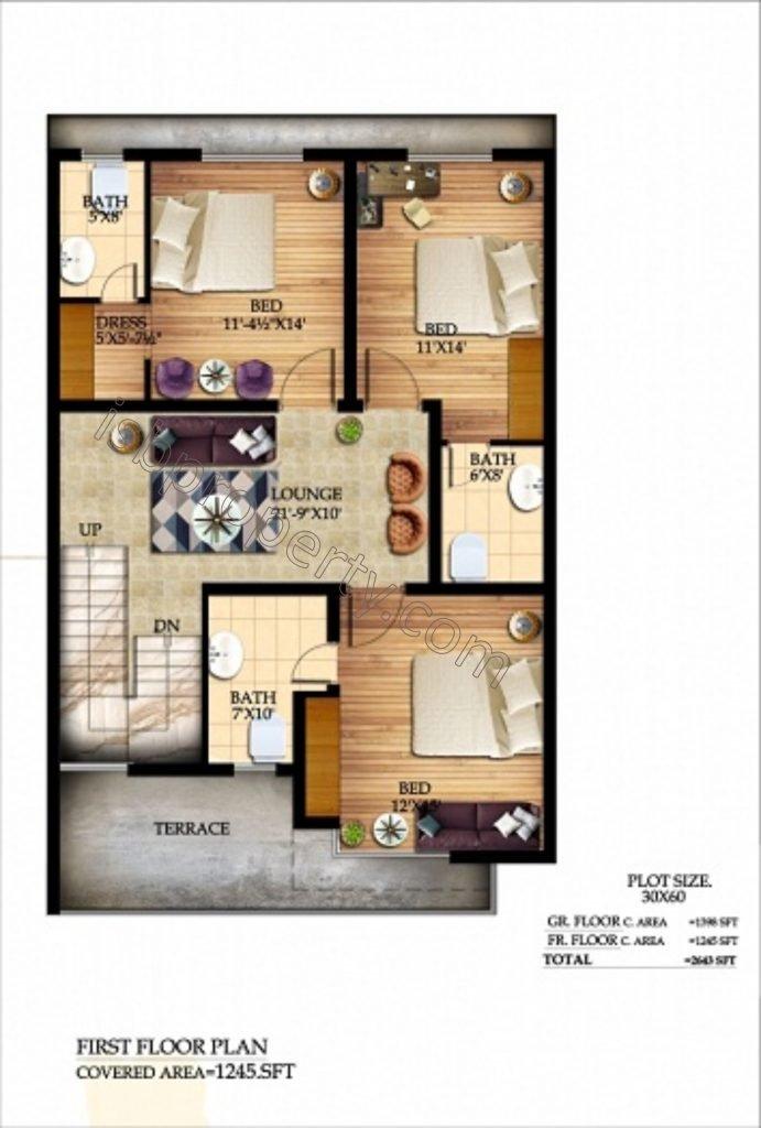Graceland8Marla1stFloor