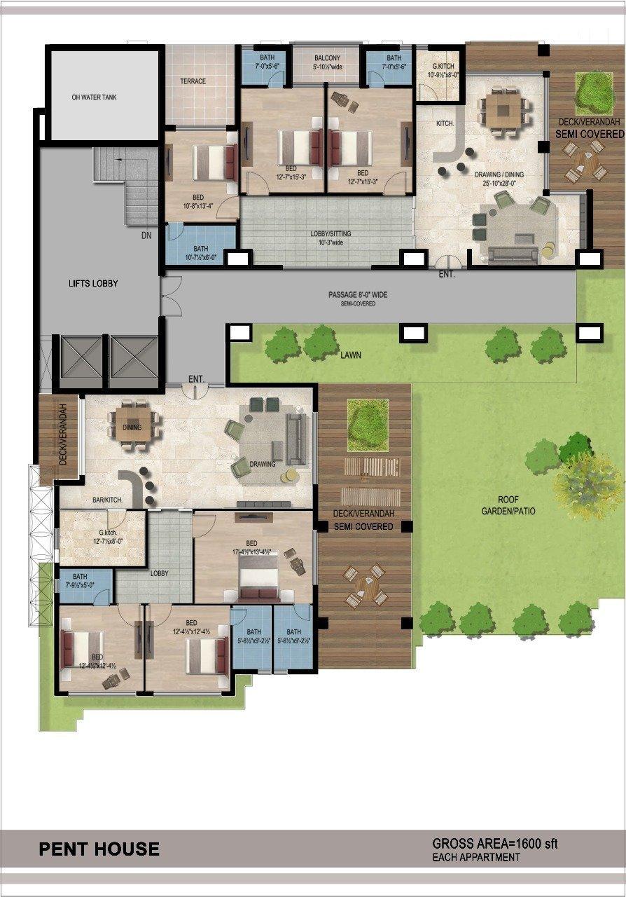 Lake-Vista-Bahria-Town-Phase-8-Pent-House