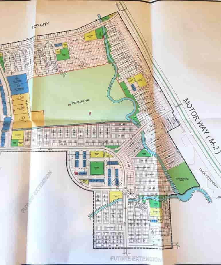 Airport Green Garden Map
