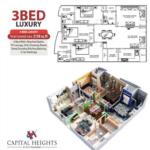 Capita lHeihgts 3 Bed Luxury