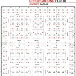 Gulberg Rabi Center Upper Ground Floor Jewelry Bazar Floor Plan