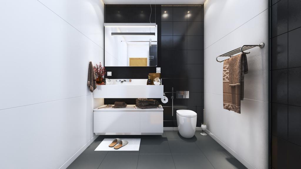 Gulberg Twin Tower Washroom