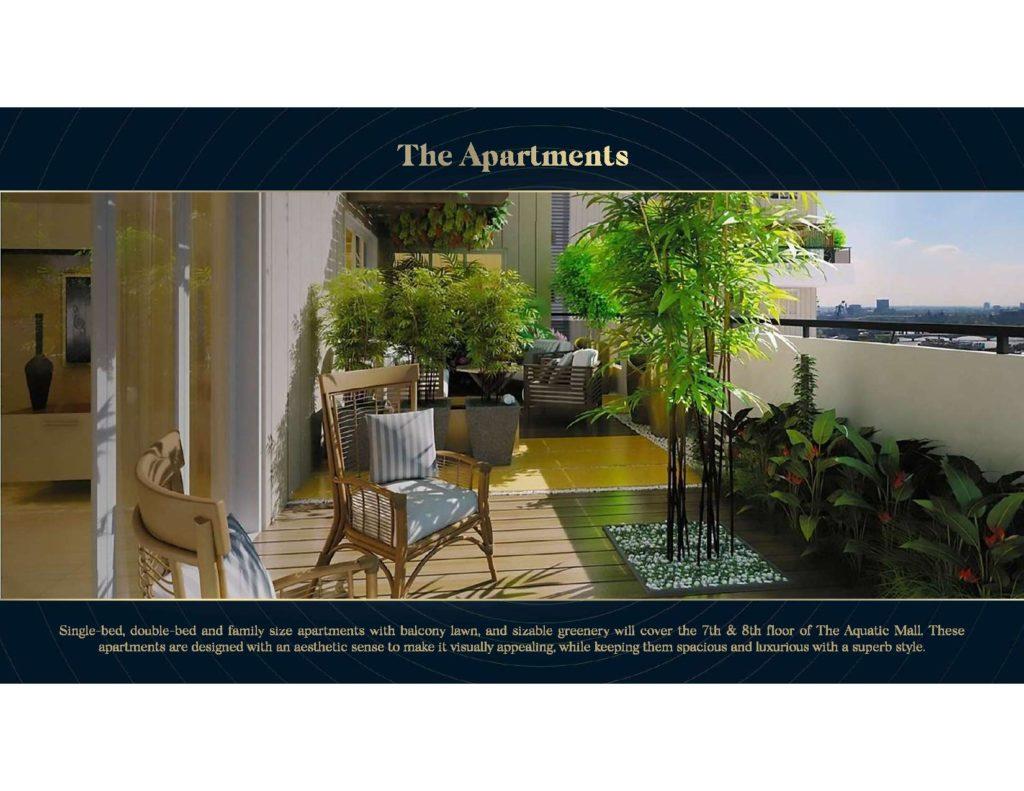 Aquatic Mall Apartment-1