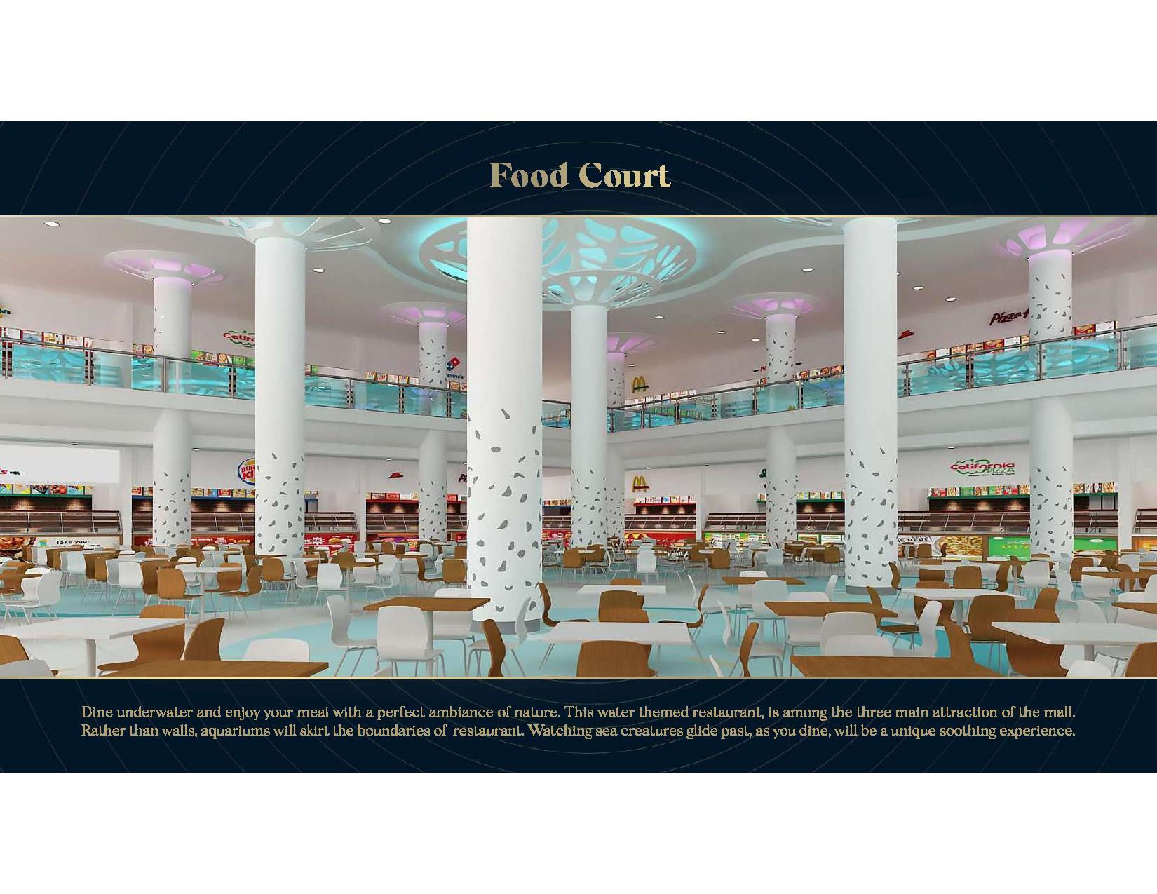 Aquatic Mall Food Court