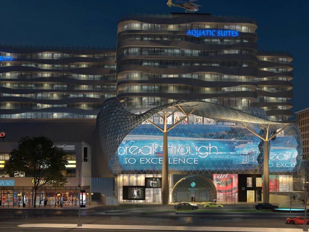 Aquatic Mall Front View