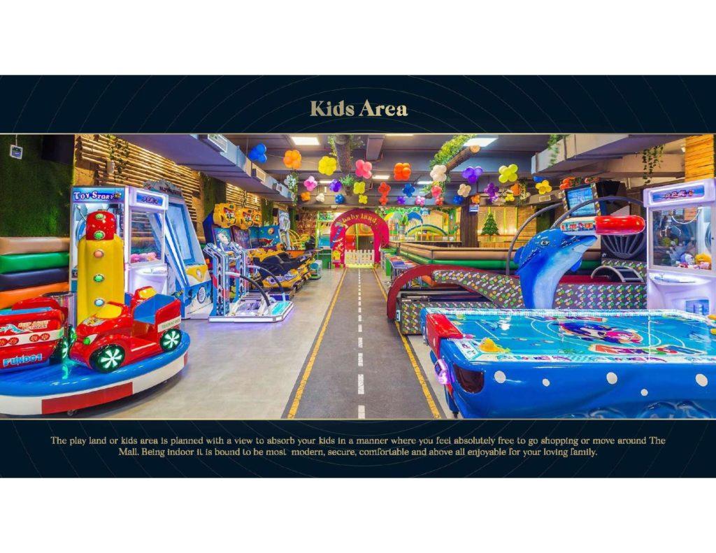 Aquatic Mall Kids Area