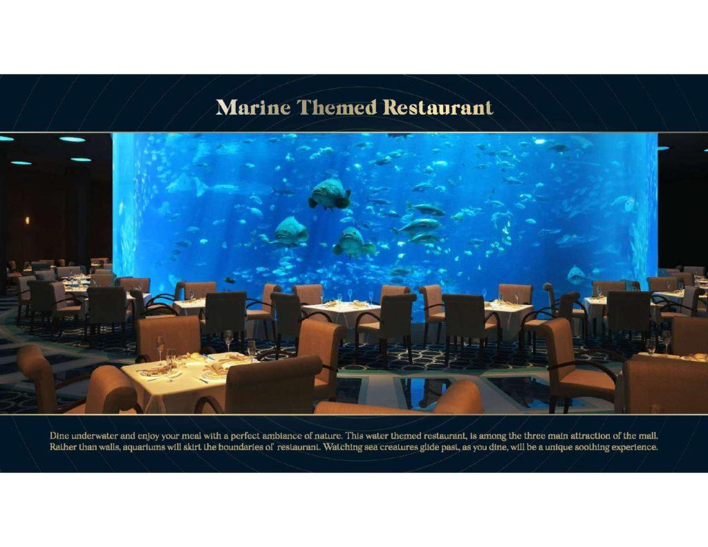 Aquatic Mall Marine Themed Restaurant