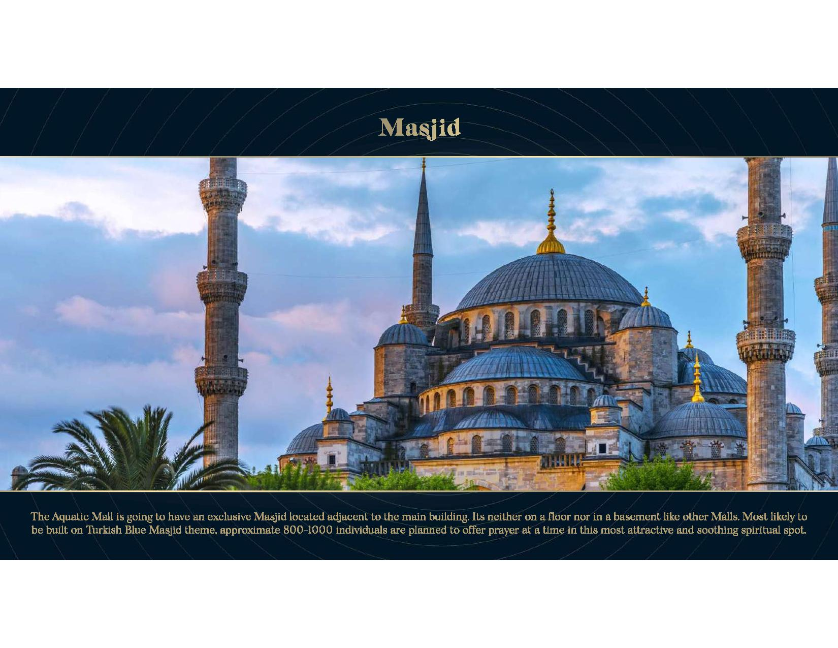 Aquatic Mall Mosque