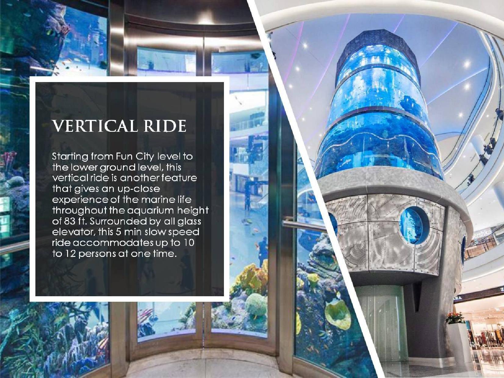 Aquatic Mall Vertical Ride