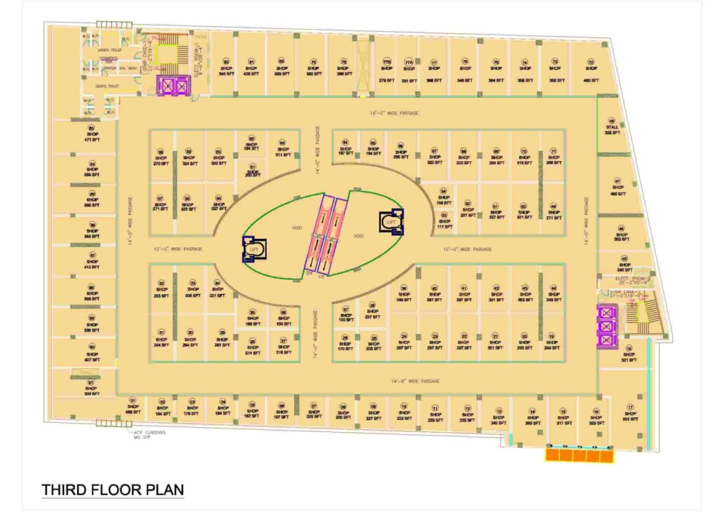 D-Mall 3rd Floor Plan