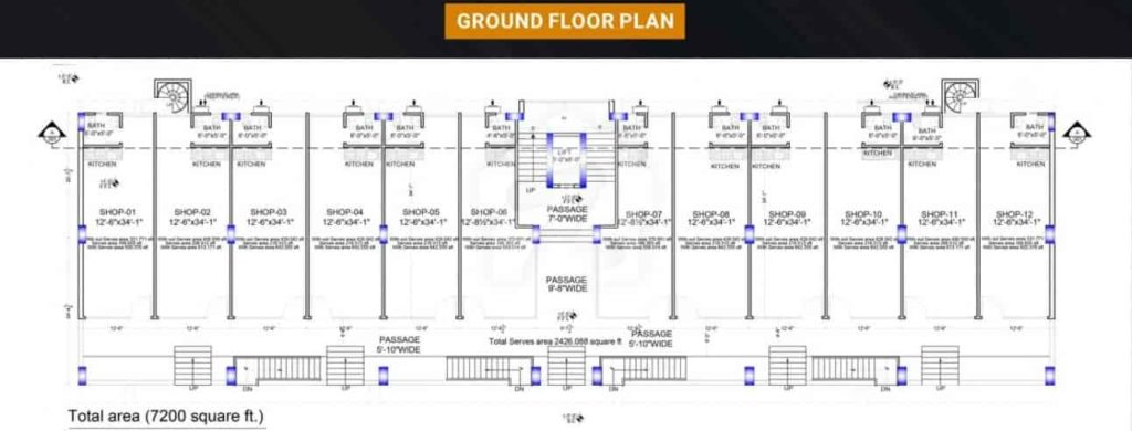 Grande Business Center Ground Floor Plan