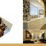 Time Square 1 Bed Apartment Floor Plan