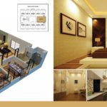 Time Square 3 Bed Executive Apartment Floor Plan
