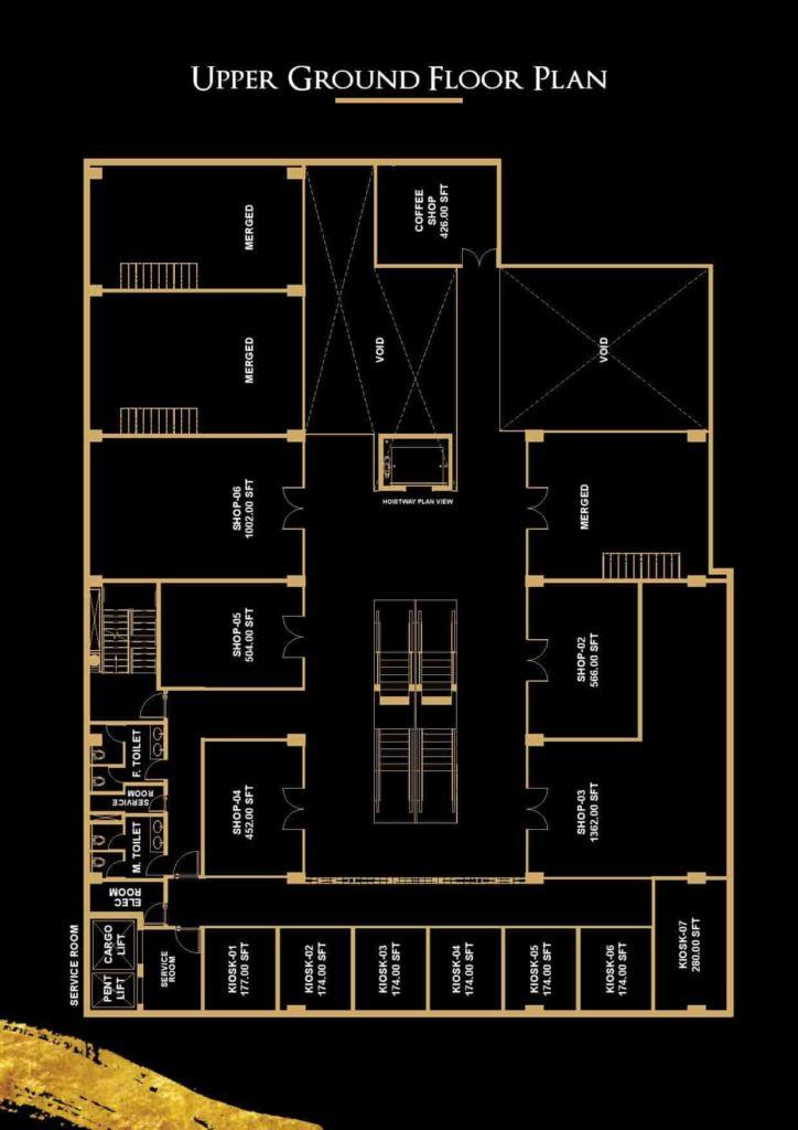 V 8 Upper Ground Floor Plan