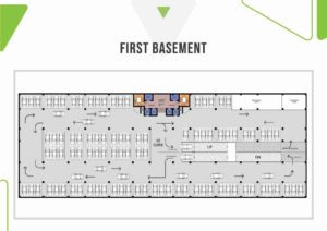 Skypark One 1st Basement Plan