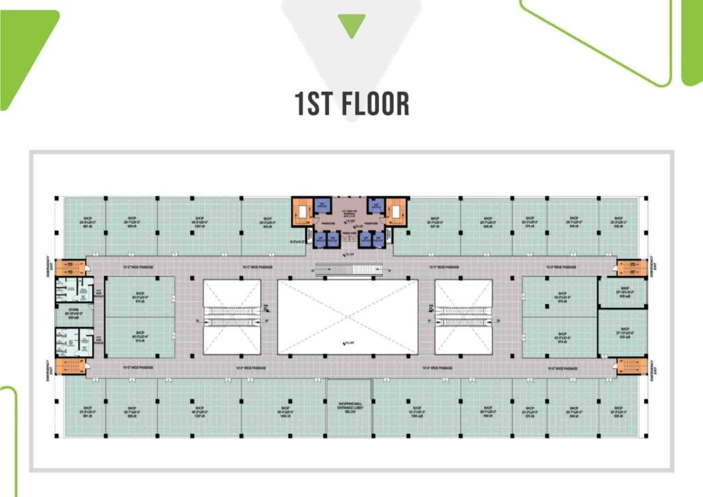 Skypark One 1st Floor Plan