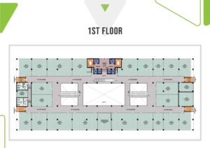 Skypark One 1st Floor Plan