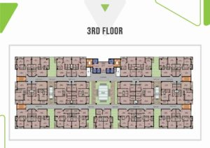 Skypark One 3rd Floor Plan