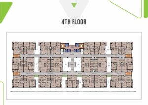 Skypark One 4th Floor Plan