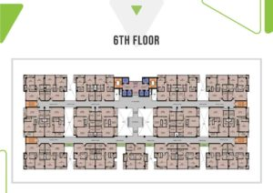 Skypark One 6th Floor Plan