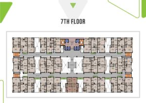 Skypark One 7th Floor Plan