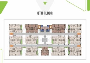 Skypark One 8th Floor Plan