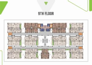 Skypark One 9th Floor Plan