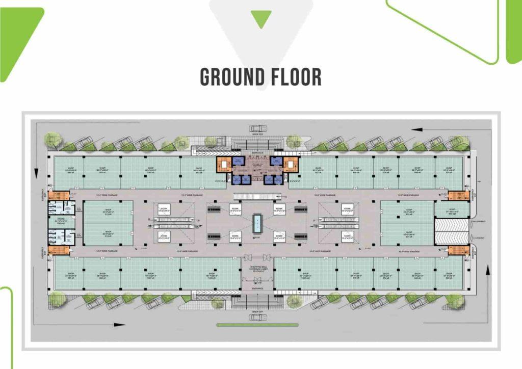 Skypark One Ground Floor Plan