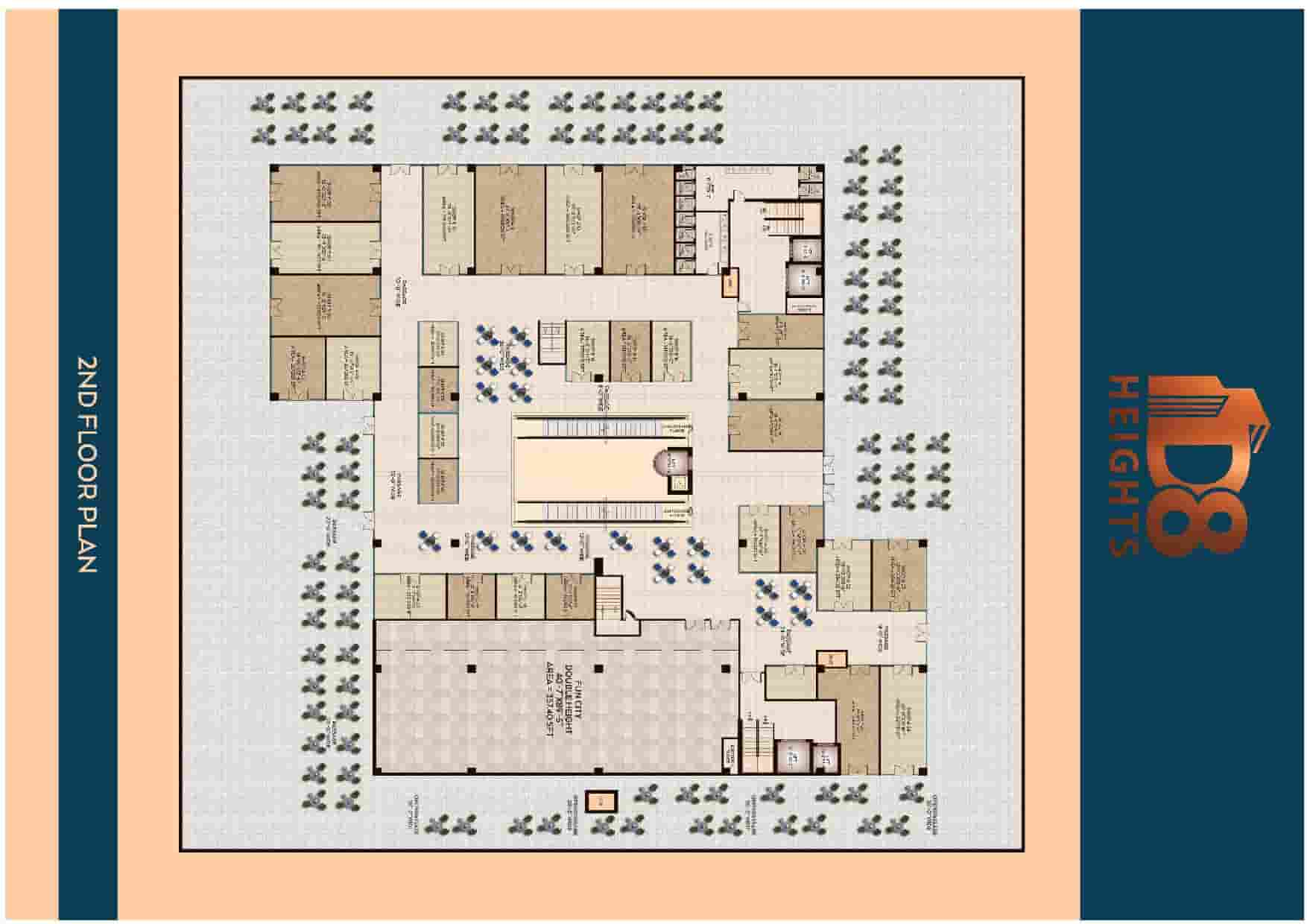 D8 Heights 2nd Floor Plan