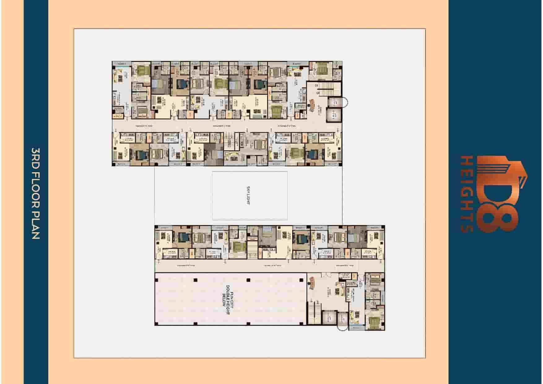 D8 Heights 3rd Floor Plan