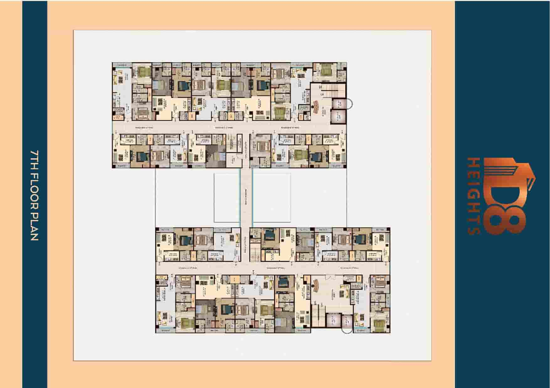 D8 Heights 7th Floor Plan