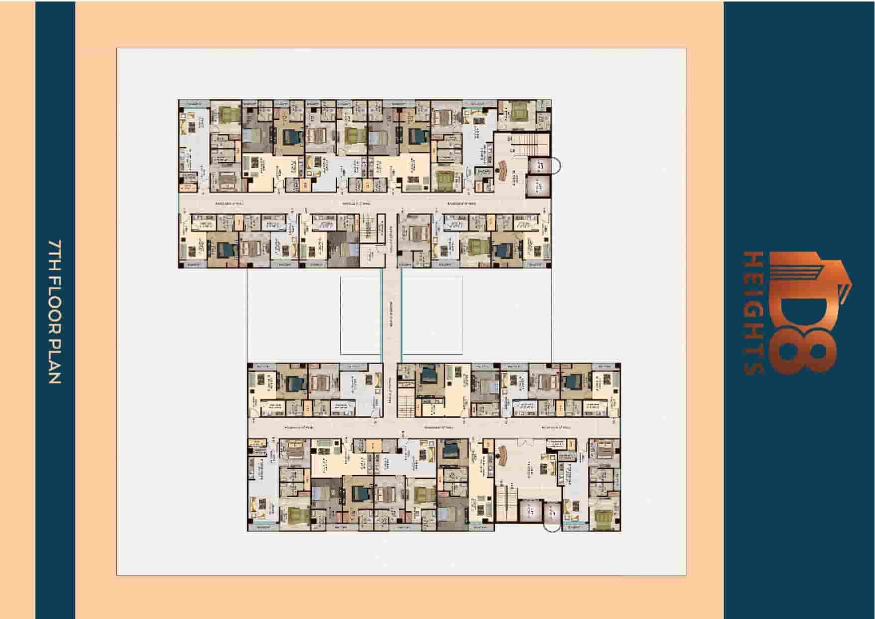 D8 Heights 7th Floor Plan
