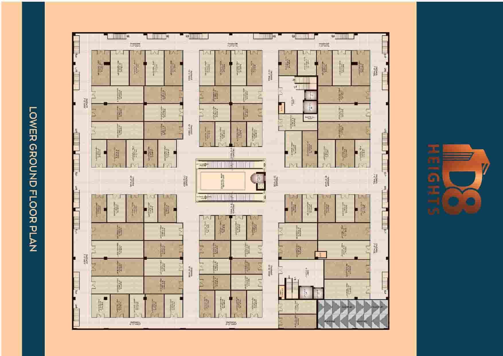 D8 Heights Lower Ground Floor Plan