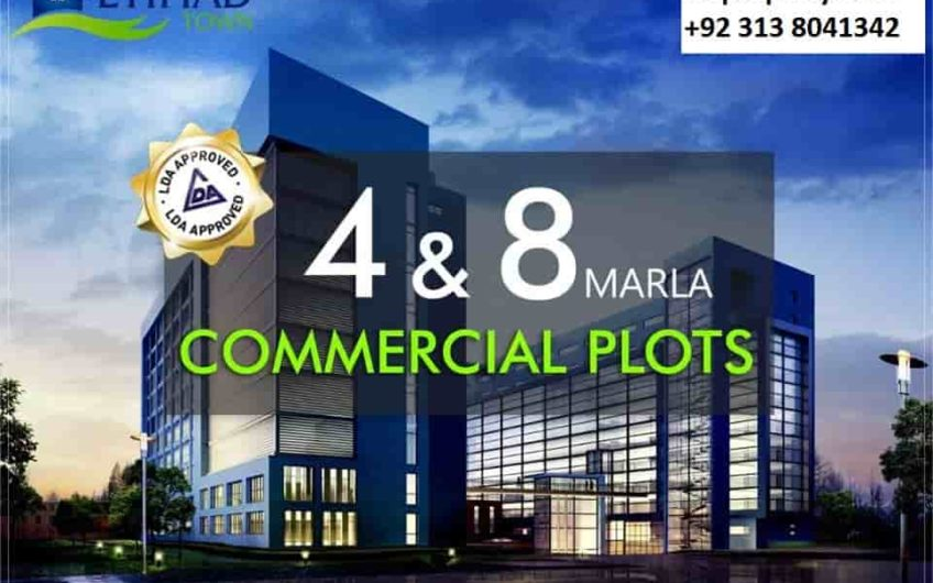 Etihad Town Lahore Commercial