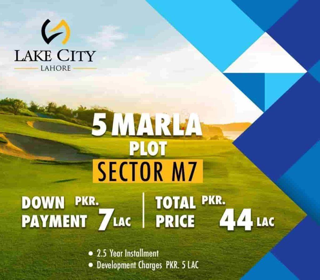 Lake-City 5 Marla-Plot