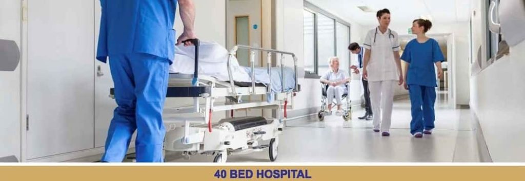 Blue World City 40 Bed Hospital