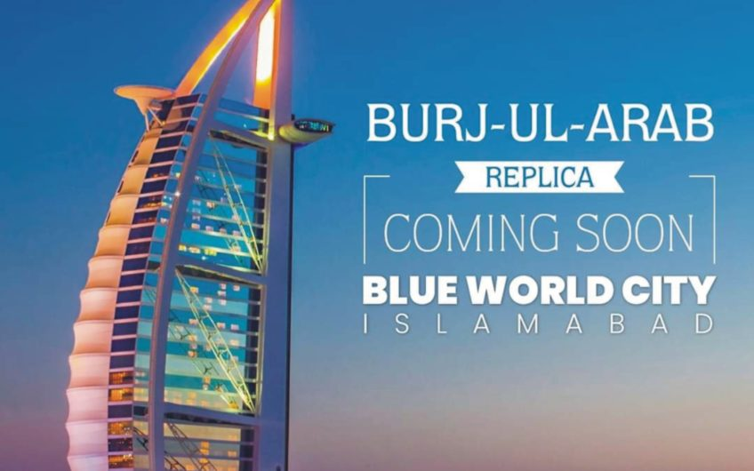 Blue World City Burj Al-Arab Replica
