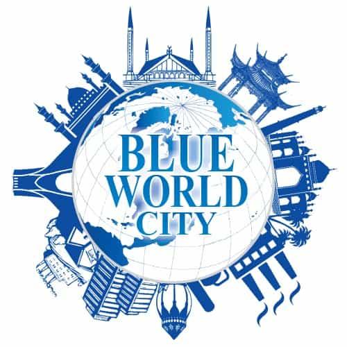 Blue World City Logo