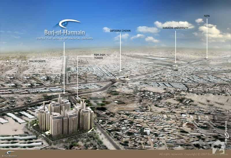 Burj ul Harmain Nearby