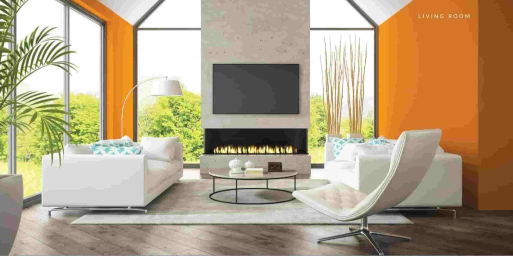 Capital Smart Villa Living Room