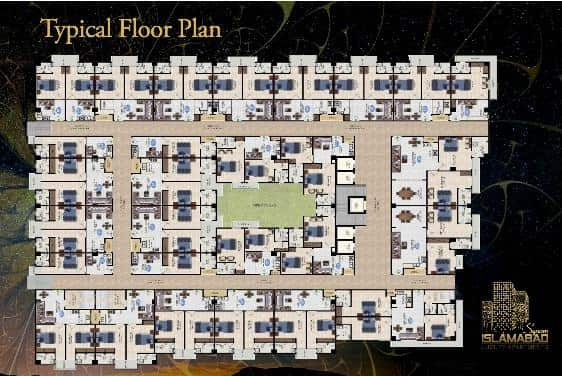 Islamabad Square Floor Plan