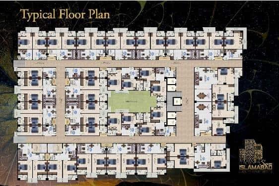 Islamabad Square Floor Plan