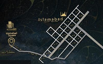 Islamabad Square Location