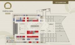 Omega Mall 1st Floor Plan