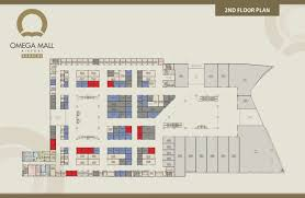 Omega Mall 2nd Floor Plan