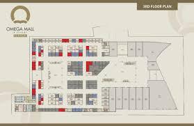 Omega Mall 3rd Floor Plan
